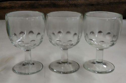 3-bartlett-collins-thumbprint-clear-glass-stem-beer-goblets-16-oz-3-737040a841efb91bd085d02206830e48